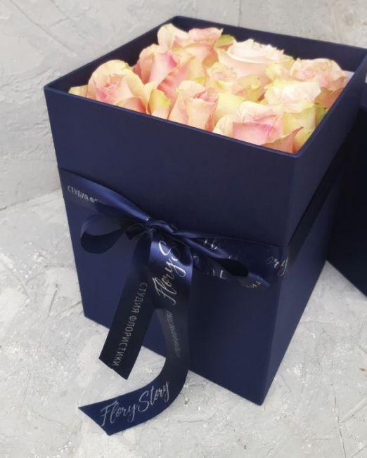 розы в коробке брест 305 (1)