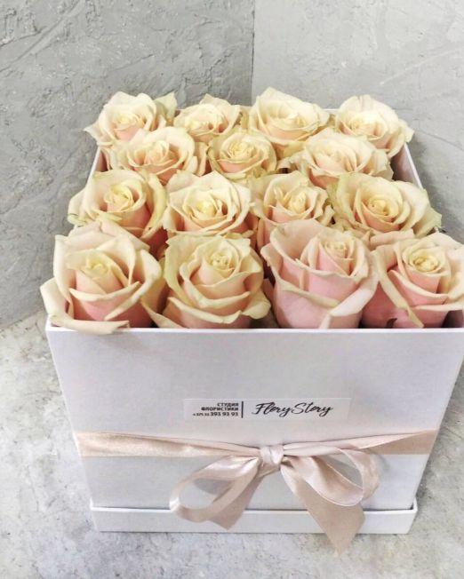 розы в коробке брест (1)