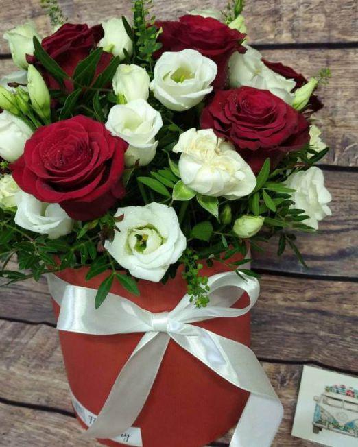 шляпная коробка с розами брест (1)
