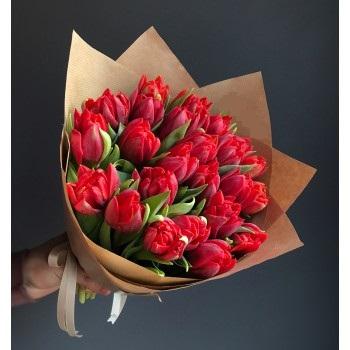 1 букет из тюльпанов