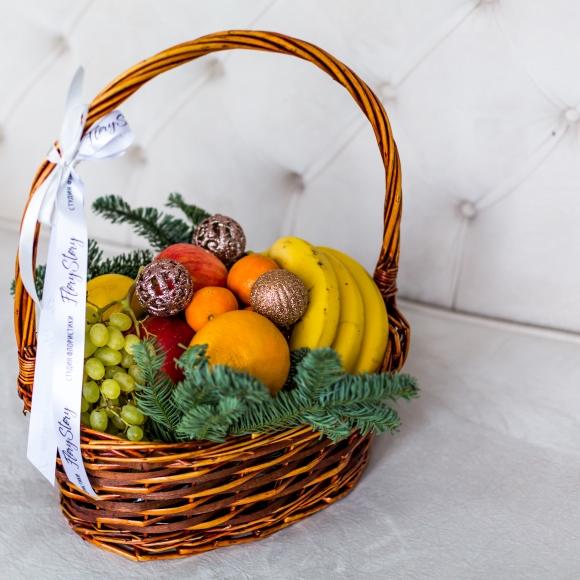 Подарочная корзина с фруктами 429