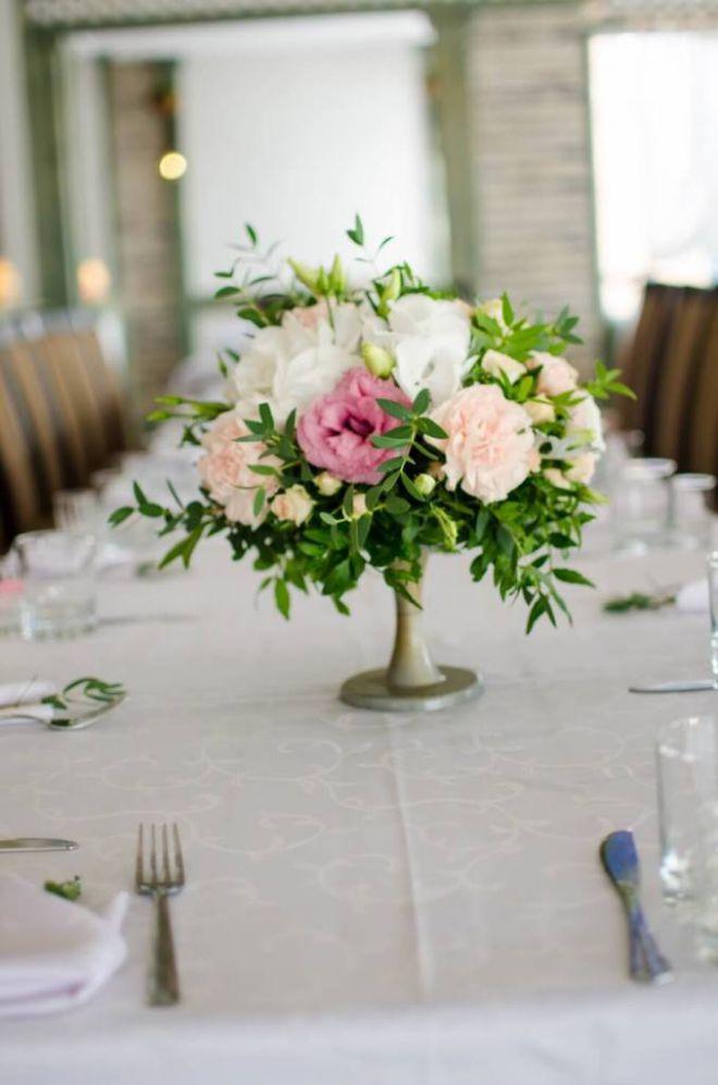 свадебное оформление живыми цветами брест 5