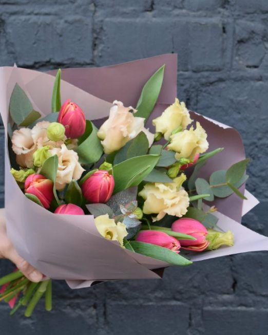 букет из тюльпанов брест -1