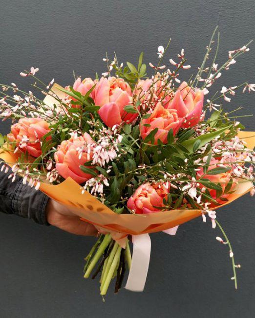 букет из тюльпанов брест -2