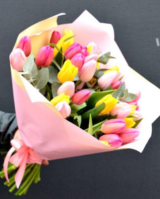 букет из тюльпанов брест -3