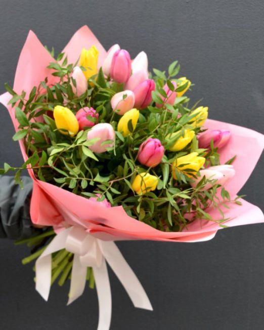 букет из тюльпанов брест -4
