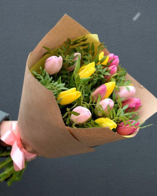 букет из тюльпанов брест -5