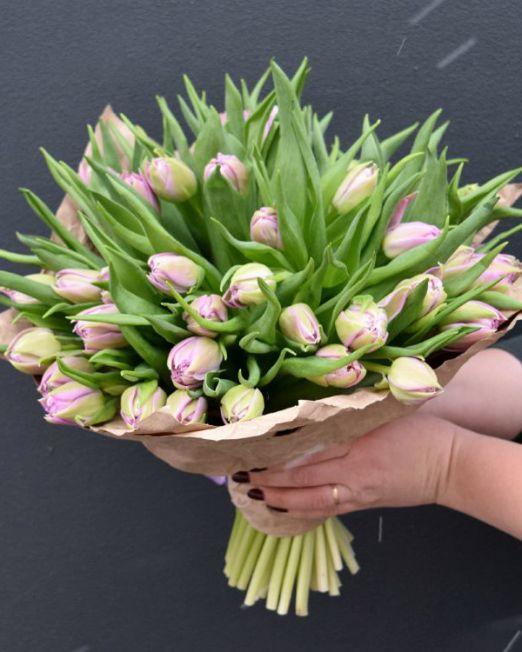 букет из тюльпанов брест -8