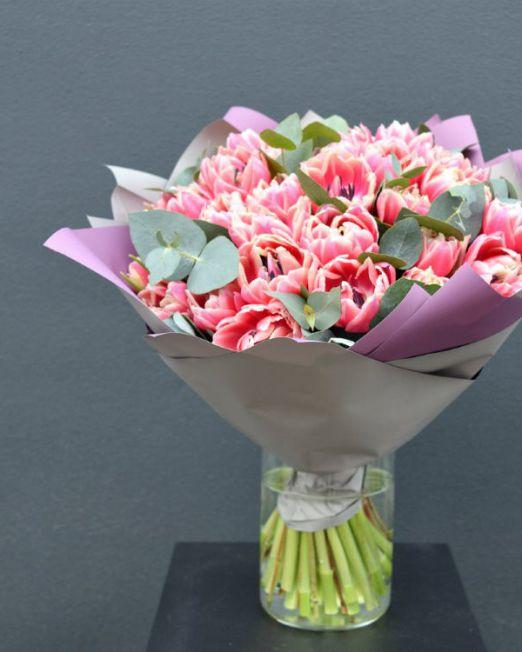 букет из тюльпанов брест -9