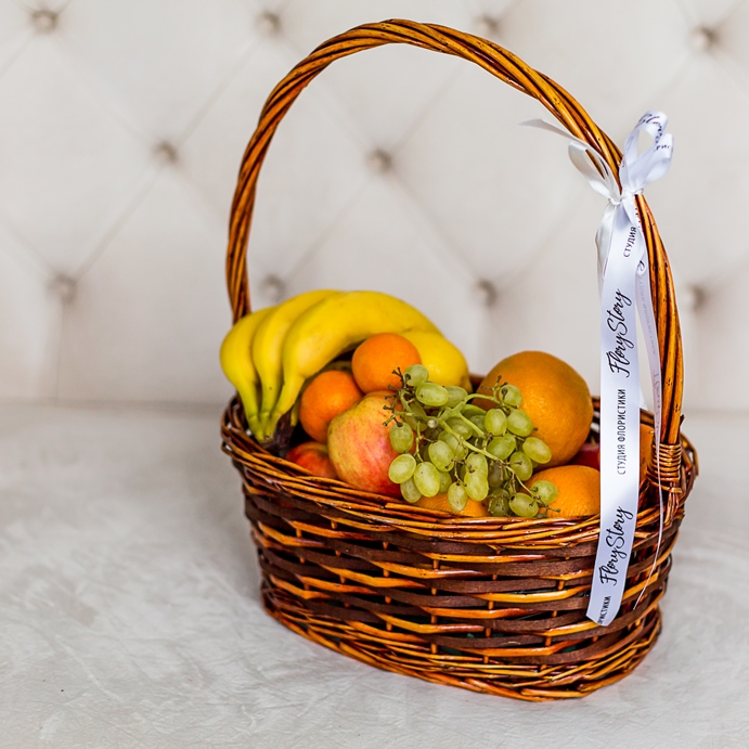 Подарочная корзина с фруктами 353