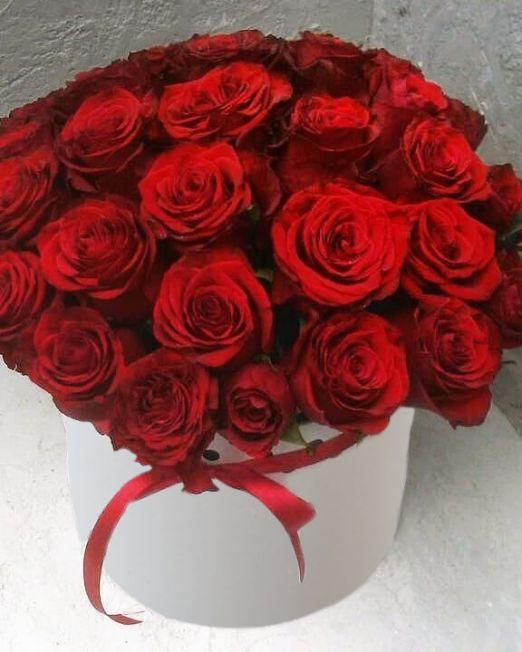 шляпная коробка розами (4)