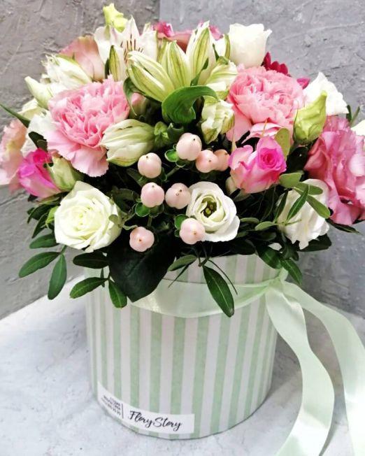 шляпная коробка цветами (1) (1)