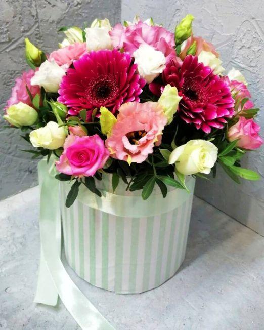 шляпная коробка цветами (2) (1)