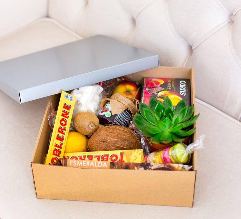 Подарочная коробка с фруктами 404