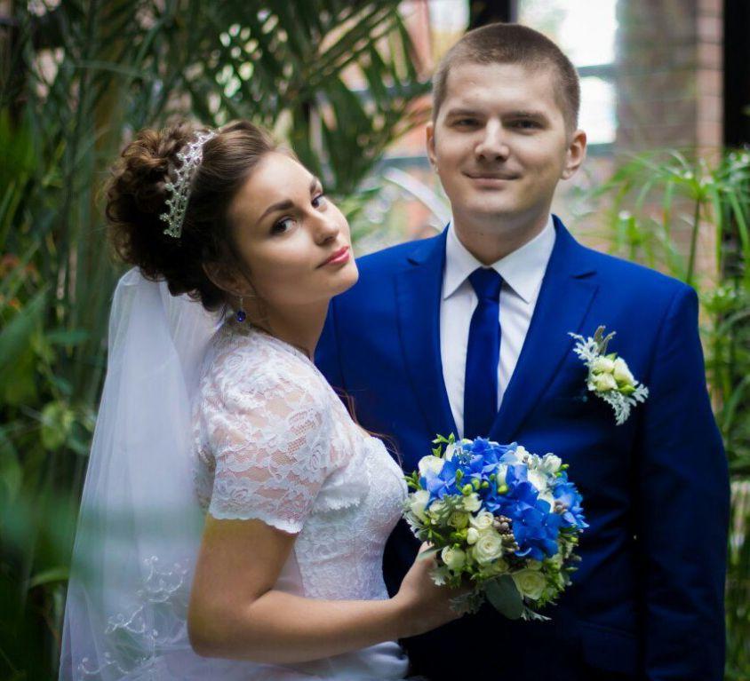Свадебный букет невесты с гортензией — 704