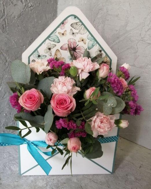 конверт с цветами _4