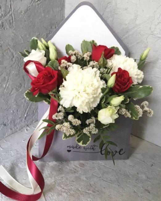 конверт с цветами _5