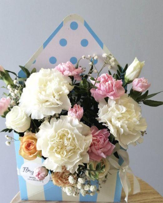конверт с цветами _6