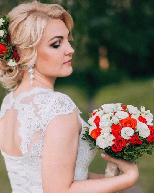 свадебные аксессуары из живых цветов Брест