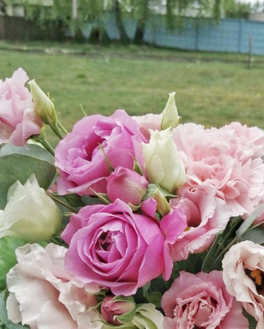 бархатная коробка с цветами _2
