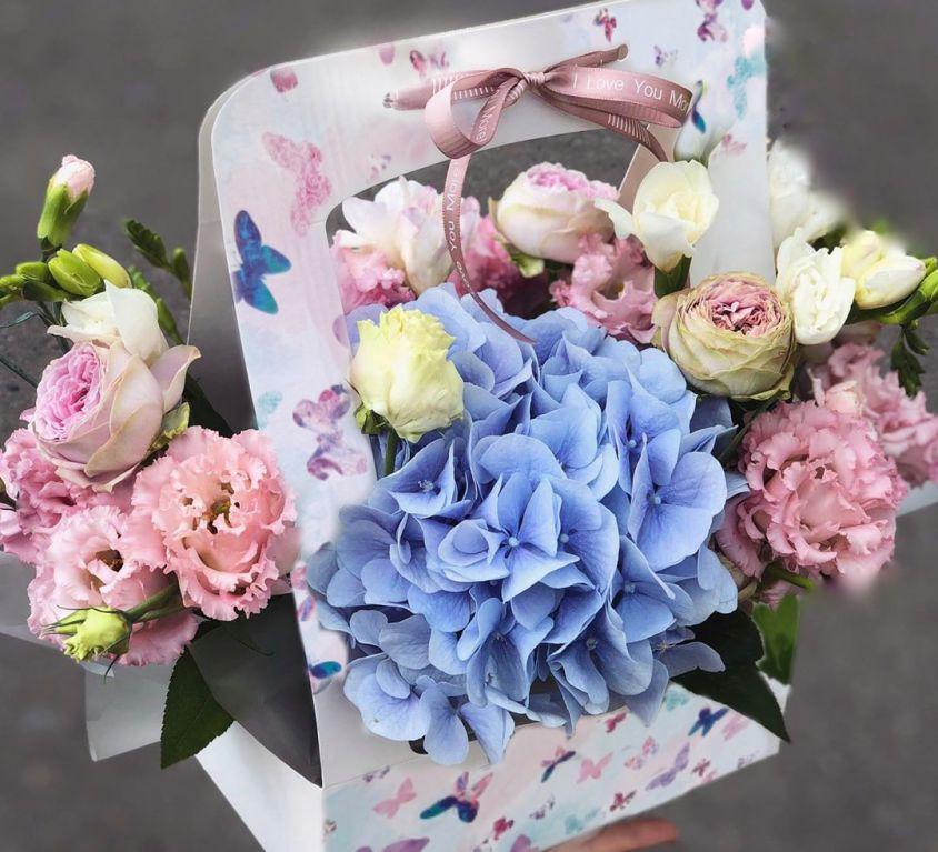 Сумочка с цветами 474