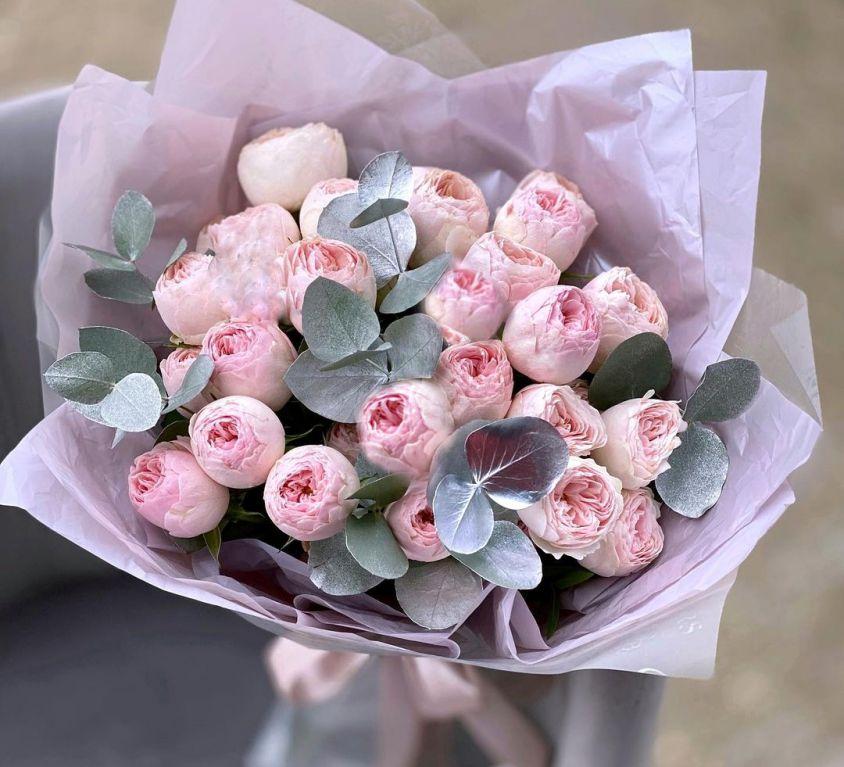 Букет из кустовой розы mansfield park 614
