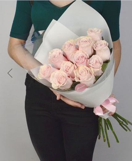 Заказать Букет из 11 роз Pink Mondial